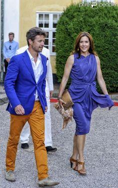 Crown Prince Frederick and Crown Princess Mary