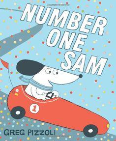 Number One Sam by Greg Pizzoli http://www.amazon.com/dp/142317111X/ref=cm_sw_r_pi_dp_lJYdub0ER1Y9Y