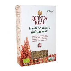 "Fusilli de Arroz y Quinoa ecológicos certificados ""QUINUA REAL"""