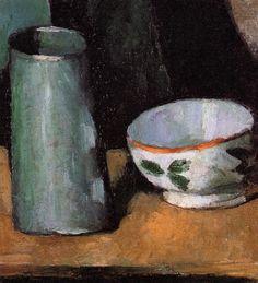 유 Still Life Brushstrokes 유 Nature Morte Paintings - Cezanne
