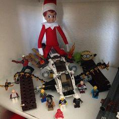 ReaDy fOr waR! Elf on the shelf adventures