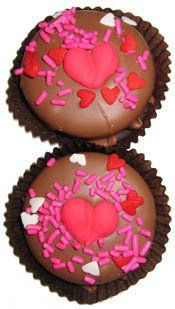 Chocolate Dipped Oreo Cookies Decorated Be Mine- 7 Oreo Assortment for Valentine's and Mother's Day