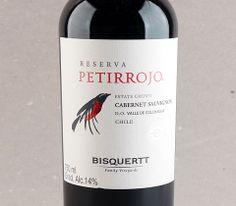 Petirrojo Reserva Cabernet Sauvignon #vinho #vinhochileno #cabernetsauvignon #petirrojo #valledecolchagua