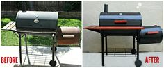 How to restore an old BBQ