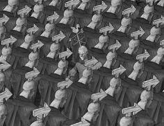 Este artista desenmascaró alasociedad moderna: sus obras son pesadas ehipnotizantes alavez Satire, Satirical Illustrations, Gender Binary, Amazing Drawings, Whats Wrong, No Photoshop, Thought Provoking, Trees To Plant, Caricature