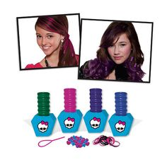 "Monster High Freaky Fab Hair Chox and Beading Kit -  Fashion Angels - Toys""R""Us"