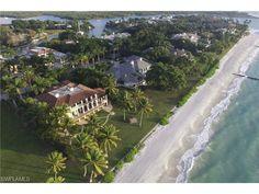 4200 Gordon Drive, Naples, FL 34102 | Rarely available Port Royal beachfront estate on south Gordon Drive. Ocean front estate in South Florida