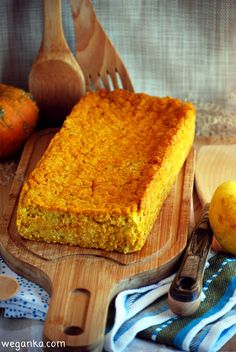 Kuchnia wegAnki: Pasztet z kaszy jaglanej i dyni