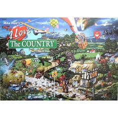 Gibsons I Love The Country Humourous Mike Jupp 1000 Piece Jigsaw Puzzle FOR SALE • £12.45 • See Photos! Money Back Guarantee. Gibsons I Love The Country 1000 Piece Jigsaw Puzzle Gibsons I Love The Country 1000 Piece Jigsaw Puzzle • A high quality 1000 piece jigsaw puzzle with sturdy pieces • 151647550637