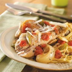 Chicken Cacciatore - slow cooker