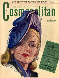 Cosmopolitan Magazine Copyright 1945 Bob Considine - www.MadMenArt.com…