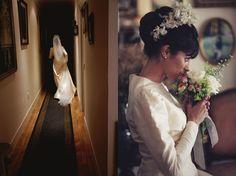 Sara, una novia vintage… de herencia familiar #weddingdresses #bride