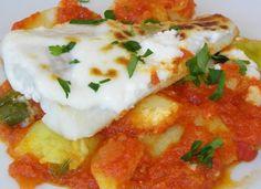 Bacalao con tomate y patatas panadera para #Mycook http://www.mycook.es/cocina/receta/bacalao-con-tomate-y-patatas-panadera