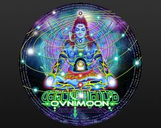 Galactic mantra is the first psychedelic Trance hymn by Ovnimoon We at Shaman decided to produce a picture disc vinyl which will be remember in the history of the psychedelic trance music history This is the first ever picture album with a full on psychedelic art drawing of a galactic Shiva printed on the vinyl and on the other side the Cyber DJ Ganesh logo from Shaman Electro Records. This cult collector vinyl! A piece of art in the psychedelic trance culture