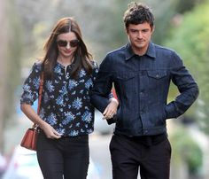 Orlando Bloom y Miranda Kerr, paseo romántico y almuerzo en familia en la ciudad de Sidney #model #actor #people #celebrities