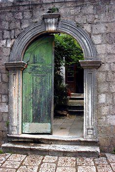 Beautiful Cavtat Door in Croatia...