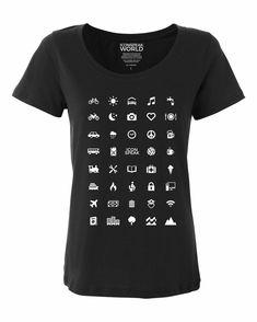 28549dd20e8bb ICONSPEAK World Edition Women s Traveller Shirt