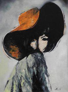 "Saatchi Art Artist Anna Fox; Painting, ""Charlotte"" #art"
