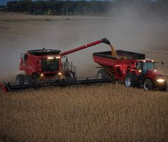 Case IH Axial-Flow combines lead the industry in productivity. Axial-Flow combines are engineered for simplicity and reliability. Case Ih Tractors, Combine Harvester, Down On The Farm, Farming, Fields, Train, Money, Products, Tractors
