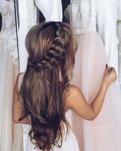 Wedding Updo Hairstyles for Long Hair from Ulyana Aster_17 / http://www.deerpearlflowers.com/wedding-updo-hairstyles-for-long-hair-from-ulyana-aster/2/: