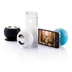 Haut-parleur publicitaire Bluetooth Ventouse - Objet publicitaire