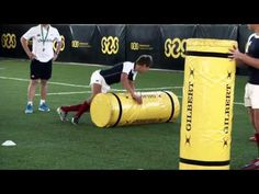 Brendan Venter on the Tackle - YouTube