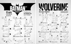 """La plage arrive bientôt les enfants. Le site de conseils sportifs et nutritifsNeilareypropose cette série rassemblant une centaine d'exercices basée sur plusieurs films d'héros bien musclés. Envie d'obtenir les abdos d'un combattant du film """"300"""" ou la souplesse de Spider-Man ? Vous voulez les gros bras de Wolverine et les pecs de THOR ? Voici…"""