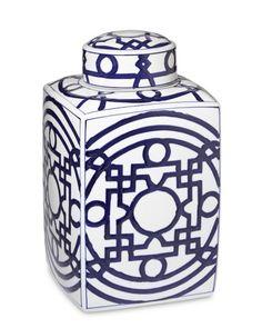Williams-Sonoma Home--Geometric Porcelain Jar
