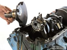 13 Rookie Engine-Building Mistakes And How To Avoid Them! with some of the great builders like Tony Bischoff, Jon Kaase, Jud Massingill, and Scott Main - Popular Hot Rodding Magazine Ls Engine, Motor Engine, Engine Block, Small Engine, Engine Swap, Truck Engine, Automobile, Race Engines, Engine Rebuild