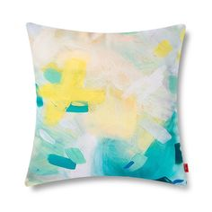 Amazon.com: baibu Pop Art Style Soft Double-faced Cushion Cover Colorful Watercolor Abstract Decorative Pillows Cover Throw Pillow Case Lake Green: Home & Kitchen