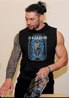 Roman Reigns Tattoo, Wwe Roman Reigns, Roman Reigns Family, Seth Freakin Rollins, Roman Reings, Dean Ambrose, High Risk, Now And Forever, Roman Empire
