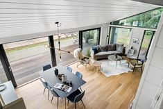 Black Line - Se vores designlinie Black Line - Stenhøj Husene A/S Container House Design, Home Design Plans, Interior Exterior, Amazing Architecture, Home Fashion, Tiny House, New Homes, Villa, Spa