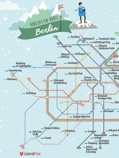 Berlin: 1. Wintersport und Schneespaß in der Großstadt. Wohin zum Rodeln in Berlin?