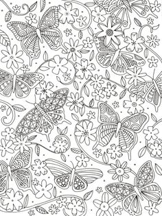 Lizzie Preston - Lizzie Preston - Butterflies And Floral