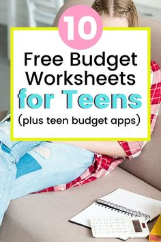 Budgeting for teens: Teen budget worksheets – I love this roundup of budget planners for teenagers. I was searching online and it was SO hard to find any at all. She includes teenage budget worksheets, teenage budget apps, budget planners for teenagers, teen budget excel sheets, etc. #teen #financialliteracy #budgeting Budget App, Excel Budget, Budget Binder, Budget Planner, Monthly Planner, Teaching Kids Money, Help Teaching, Life Skills Kids, Budget Worksheets
