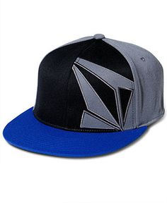 Volcom Hat, NG Fitted Graphic Hat - Mens Hats & Accessories - Macy's
