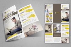 The Creative Brochure - Trifold by FathurFateh on @creativemarket