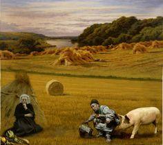 """Saatchi Art Artist Costantino Di Renzo; Painting, """"IL RITORNO DAI CAMPI"""" #art"""