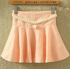 Fabric: Lace Color: black , red, purple , white, pink Size: Standard size ( medium size ) Size : Skirt Length 32CM, Waist : 64-76CM