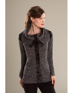 Veste/Jacket Moka-Crème - KARKASS fashion designer. Mode québécoise / Made in Quebec