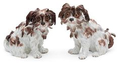 A Pair of Meissen Models of Bolognese Terriers | Dogs | Palm Beach Collections | December 1-2, 2016 in West Palm Beach