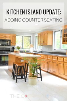 How to extend your existing island counter