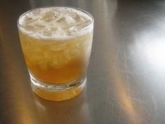 Maple Leaf Cocktail: In a cocktail shaker filled with ice, combine 2 ounces bourbon, 1 teaspoon maple syrup, and 1 tablespoon chopped crystallized ginger. Shake well, pour into a rocks glass and top off with apple juice.  Makes 1 drink.