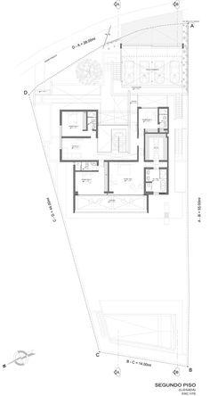Casa en la Cima,Planta segundo nivel