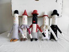 dolls by Břichopas toys