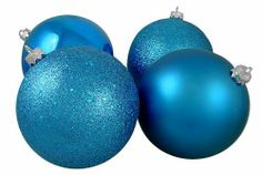 4 Christmas Ball Ornaments - 10'' by Gordon Companies, Inc. $148.50. Please refer to SKU# ATR25780680 when you inquire.. Shipping Weight: 2.00 lbs. This product may be prohibited inbound shipment to your destination.. Picture may wrongfully represent. Please read title and description thoroughly.. Brand Name: Gordon Companies, Inc Mfg#: 30732222. 4 Christmas ball ornaments/blue/shiny/matte/glittery/sparkly/shatterproof/hangers included/10'' dia. 250mm/made of plastic a...