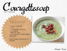 courgettesoep