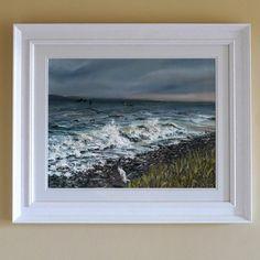 Canvas Frame, Oil On Canvas, Irish Art, White Horses, The Fresh, Contemporary Art, Art Gallery, Original Art, Art Pieces