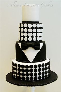 '007' Cake - never thought a suit and tie would look so good on a cake!