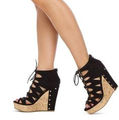 modabridal.co.uk SUPPLIES Tailormade Ultra-High Heel Rubber Open Toe Lace-up Heel Covering Wedge Heel Summer Casual Sandals Sandals